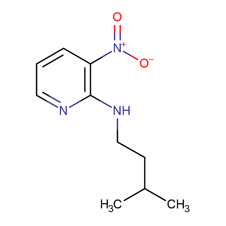 N-(3-methylbutyl)-3-nitro-2-pyridinamine
