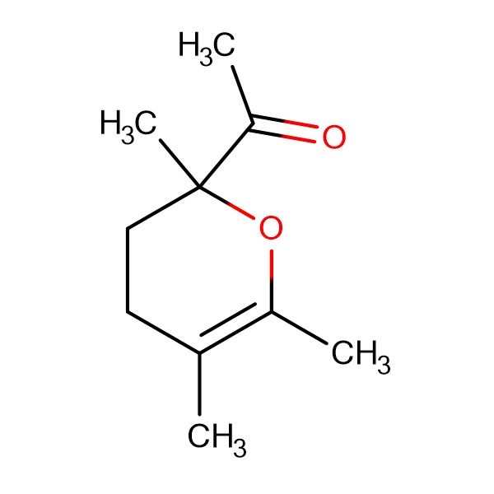 1-(2,5,6-trimethyl-3,4-dihydro-2H-pyran-2-yl)ethanone