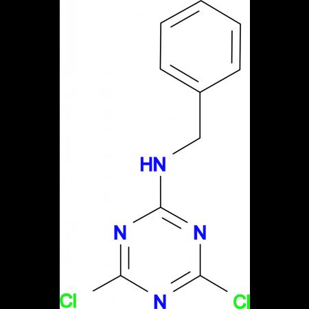 N-benzyl-4,6-dichloro-1,3,5-triazin-2-amine