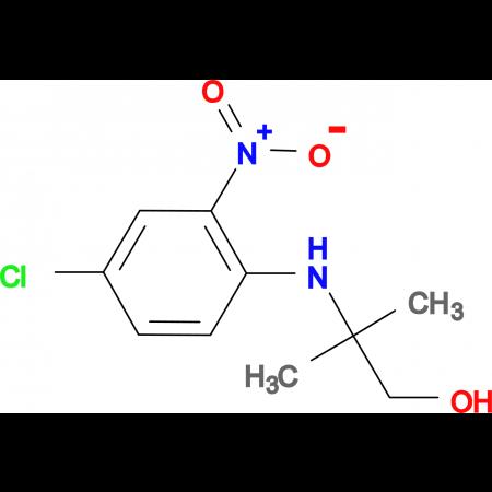 2-[(4-chloro-2-nitrophenyl)amino]-2-methylpropan-1-ol