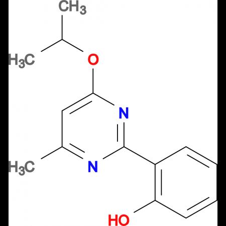 2-(4-isopropoxy-6-methyl-2-pyrimidinyl)phenol