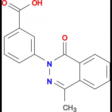 3-(4-methyl-1-oxophthalazin-2(1H)-yl)benzoic acid
