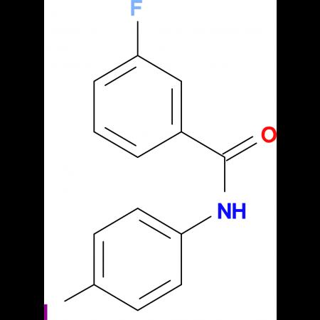 3-Fluoro-N-(4-iodophenyl)benzamide