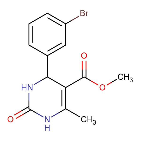 methyl 4-(3-bromophenyl)-6-methyl-2-oxo-1,2,3,4-tetrahydropyrimidine-5-carboxylate