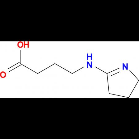 4-(3,4-dihydro-2H-pyrrol-5-ylamino)butanoic acid