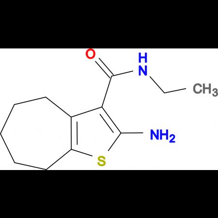 2-amino-N-ethyl-5,6,7,8-tetrahydro-4H-cyclohepta[b]thiophene-3-carboxamide