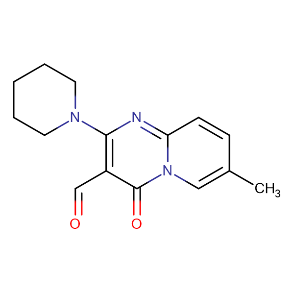 7-methyl-4-oxo-2-piperidin-1-yl-4H-pyrido[1,2-a]pyrimidine-3-carbaldehyde