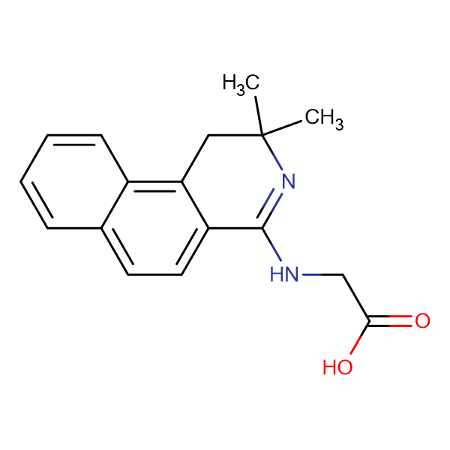 N-(2,2-dimethyl-1,2-dihydrobenzo[f]isoquinolin-4-yl)glycine