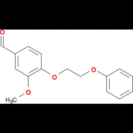 3-methoxy-4-(2-phenoxyethoxy)benzaldehyde