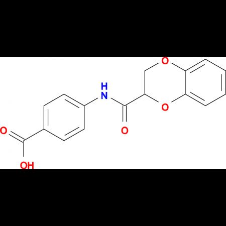 4-[(2,3-dihydro-1,4-benzodioxin-2-ylcarbonyl)amino]benzoic acid