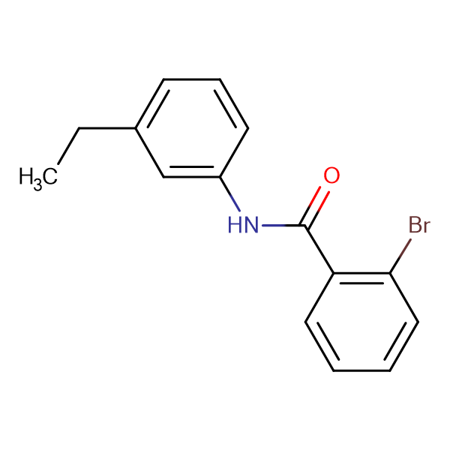 2-bromo-N-(3-ethylphenyl)benzamide
