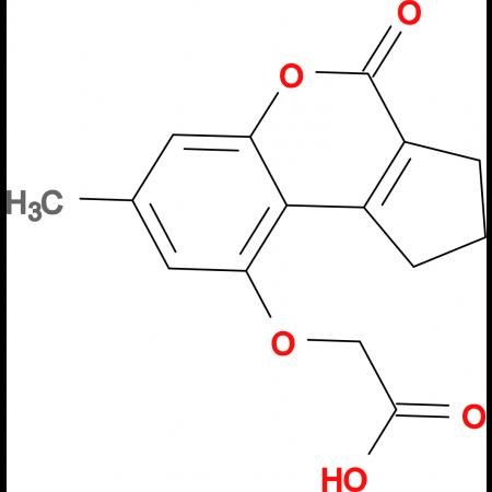 [(7-methyl-4-oxo-1,2,3,4-tetrahydrocyclopenta[c]chromen-9-yl)oxy]acetic acid
