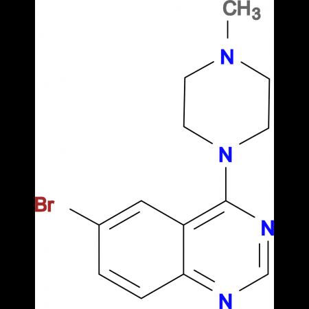 6-bromo-4-(4-methylpiperazin-1-yl)quinazoline
