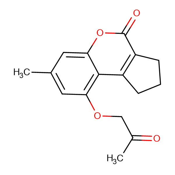 7-methyl-9-(2-oxopropoxy)-2,3-dihydrocyclopenta[c]chromen-4(1H)-one