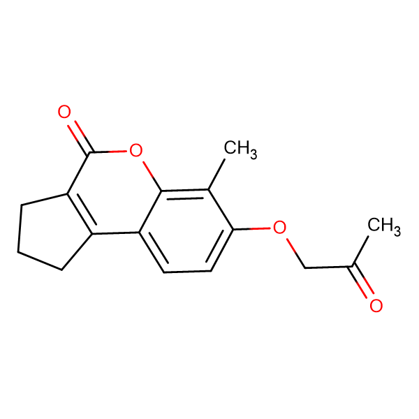6-methyl-7-(2-oxopropoxy)-2,3-dihydrocyclopenta[c]chromen-4(1H)-one