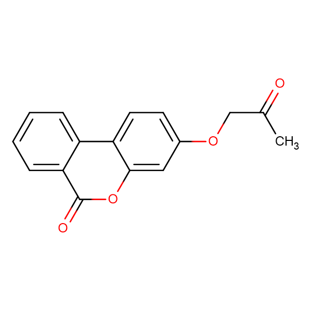 3-(2-oxopropoxy)-6H-benzo[c]chromen-6-one