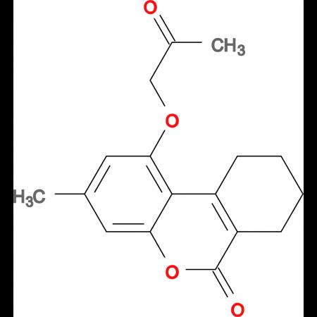 3-methyl-1-(2-oxopropoxy)-7,8,9,10-tetrahydro-6H-benzo[c]chromen-6-one