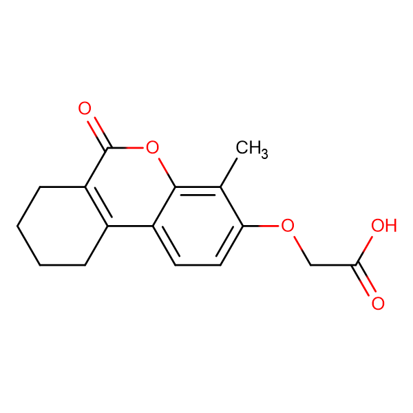 [(4-methyl-6-oxo-7,8,9,10-tetrahydro-6H-benzo[c]chromen-3-yl)oxy]acetic acid