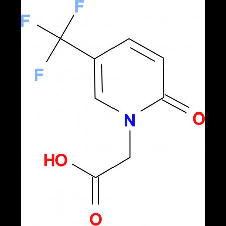 [2-oxo-5-(trifluoromethyl)-1(2H)-pyridinyl]acetic acid