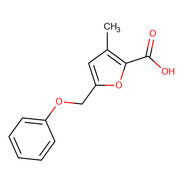 3-methyl-5-(phenoxymethyl)-2-furoic acid