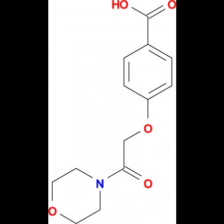 4-(2-morpholin-4-yl-2-oxoethoxy)benzoic acid