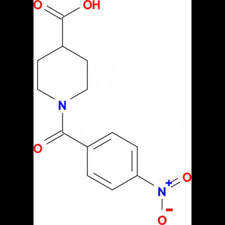 1-(4-nitrobenzoyl)piperidine-4-carboxylic acid