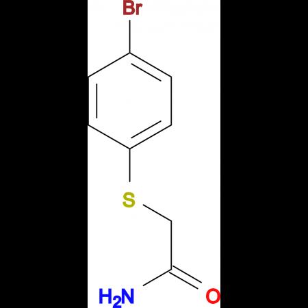 2-[(4-bromophenyl)thio]acetamide