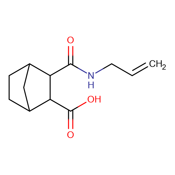 3-[(allylamino)carbonyl]bicyclo[2.2.1]heptane-2-carboxylic acid