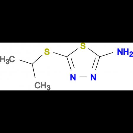 5-(isopropylthio)-1,3,4-thiadiazol-2-amine