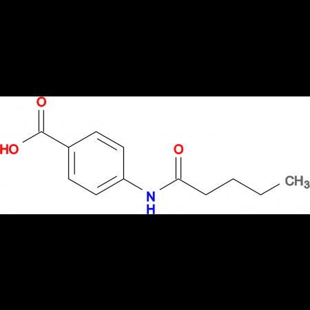 4-(pentanoylamino)benzoic acid