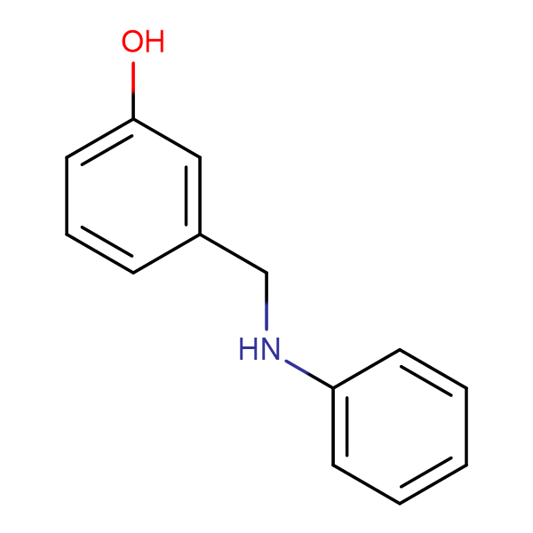 3-(anilinomethyl)phenol
