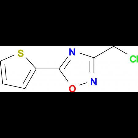 3-Chloromethyl-5-thiophen-2-yl-[1,2,4]oxadiazole