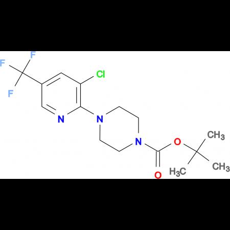 1-tert-Butyloxycarbonyl-4-(3-Chloro-5-(trifluoromethyl)pyridin-2-yl)piperazine
