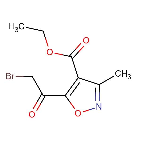 Ethyl 5-(2-bromoacetyl)-3-methylisoxazole-4-carboxylate