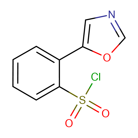 2-Oxazol-5-yl-benzenesulfonyl chloride