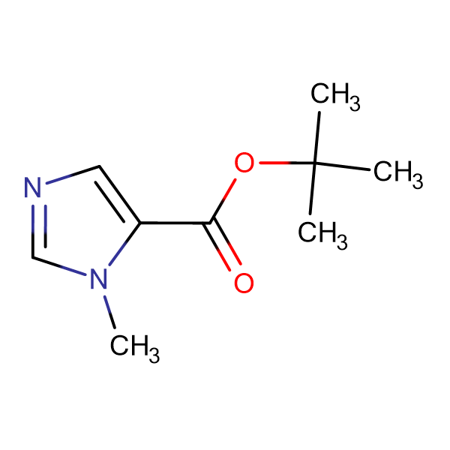 3-Methyl-3H-imidazole-4-carboxylic acid tert-butyl ester