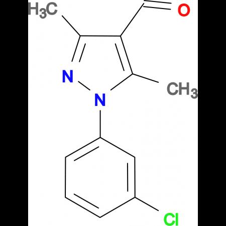 1-(3-Chloro-phenyl)-3,5-dimethyl-1H-pyrazole-4-carbaldehyde