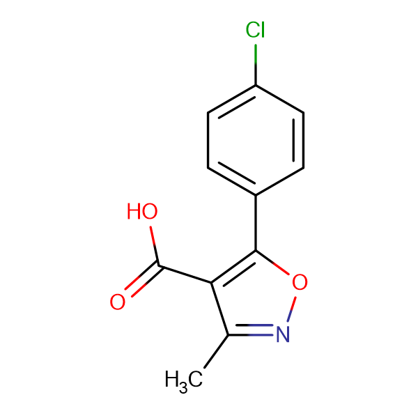 5-(4-Chlorophenyl)-3-methylisoxazole-4-carboxylic acid