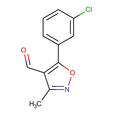 5-(3-Chlorophenyl)-3-methylisoxazole-4-carboxaldehyde