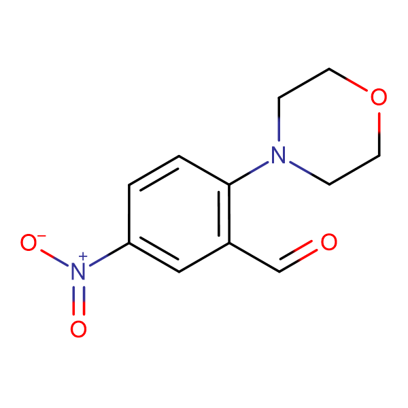 2-Morpholin-4-yl-5-nitro-benzaldehyde