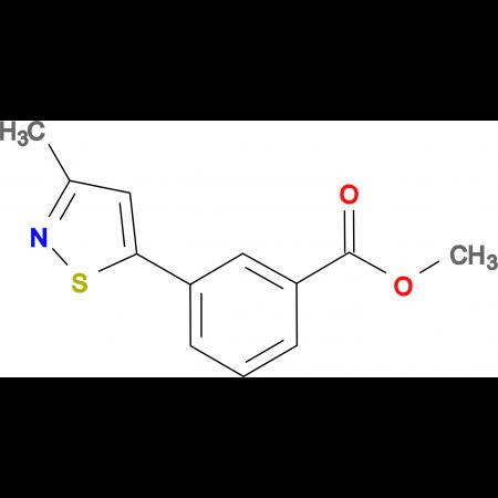 Methyl 3-(3-methylisothiazol-5-yl)benzoate