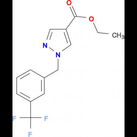 1-(3-Trifluoromethyl-benzyl)-1H-pyrazole-4-carboxylic acid ethyl ester