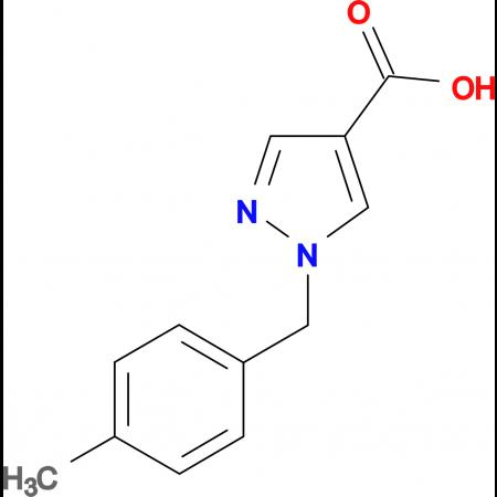 1-(4-Methyl-benzyl)-1H-pyrazole-4-carboxylic acid