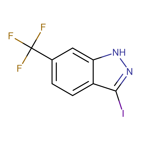 3-Iodo-6-(trifluoromethyl)-1H-indazole