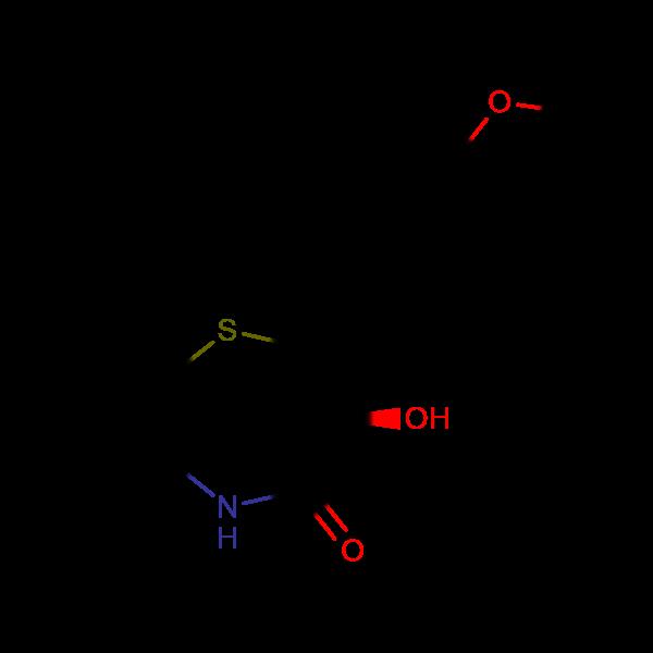 (2R,3S)-3-Hydroxy-2-(4-methoxyphenyl)-2,3-dihydrobenzo[b][1,4]thiazepin-4(5H)-one
