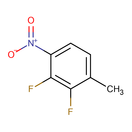 2,3-Difluoro-1-methyl-4-nitrobenzene