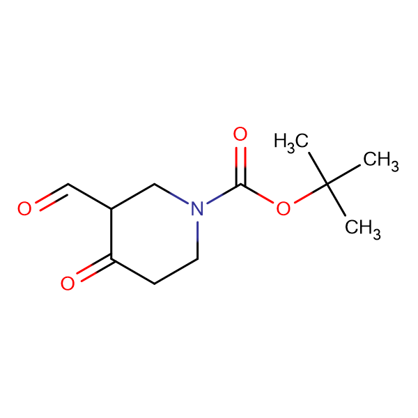 tert-Butyl 3-formyl-4-oxopiperidine-1-carboxylate