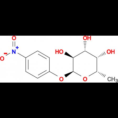 (2S,3S,4R,5S,6S)-2-Methyl-6-(4-nitrophenoxy)tetrahydro-2H-pyran-3,4,5-triol