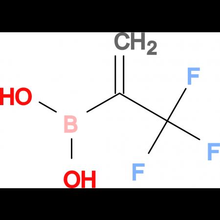 (3,3,3-Trifluoroprop-1-en-2-yl)boronic acid
