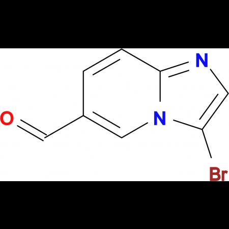 3-Bromoimidazo[1,2-a]pyridine-6-carbaldehyde